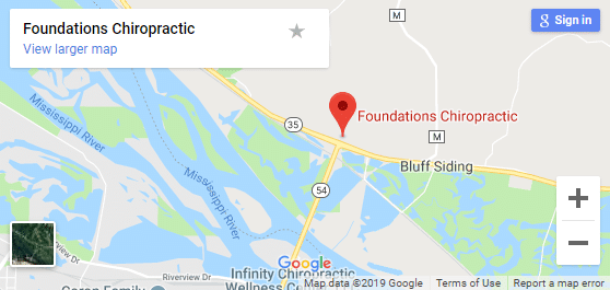 Map of Fountain City Chiropractors